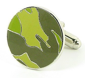 Camoflouge Military Hunter Cufflinks Cuff Links