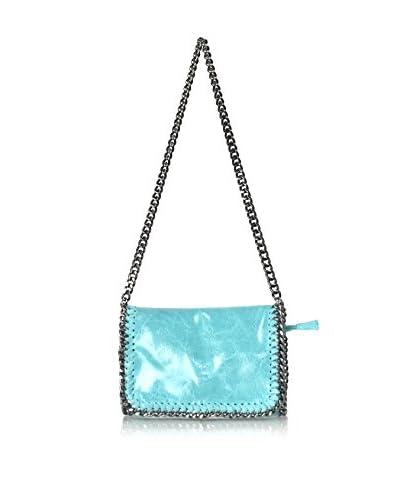Carla Belotti Bolso asa al hombro Handbag Salome Turquoise