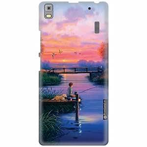 Printland Designer Back Cover for Lenovo K3 Note PA1F0001IN - Magnetic Case Cover