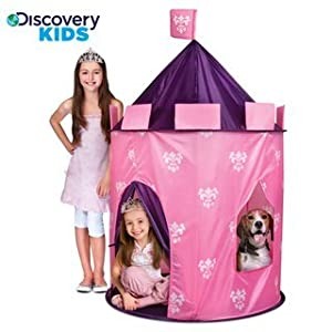Discovery Kids Princess Play Castle from 4 years and up