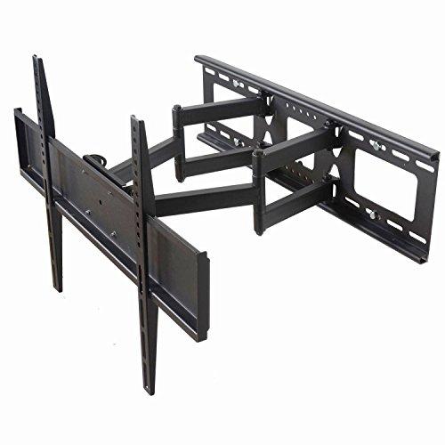 Videosecu Dual Arm Tv Wall Mount Bracket For Sony Bravia 32, 37, 40, 42, 46, 50, 52, 55 Inch Lcd Led Plasma Hdtv M65