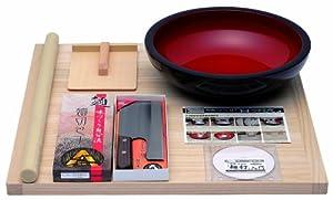 豊稔 普及型麺打セット そば・うどん麺打入門DVD付 A-1200