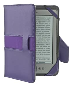 M-Edge Executive Jacket Hlle fr Kindle 4 - Lila