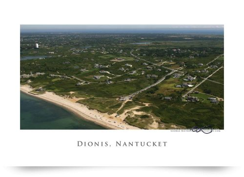 Dionis Beach, Nantucket (Giclee Art Print), George Riethof back-733088