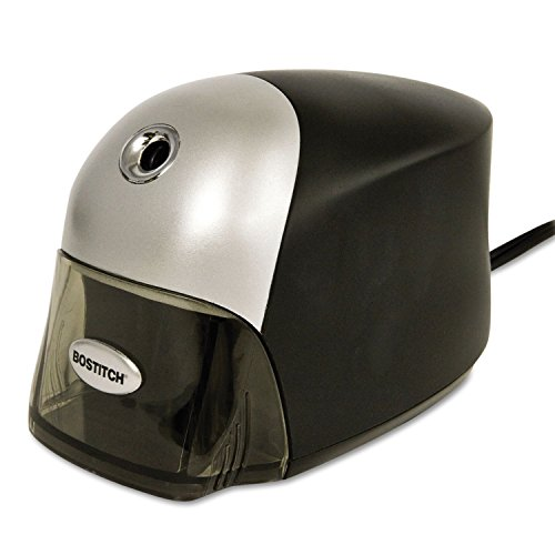 Stanley Bostitch - Quiet Sharp Executive Electric Pencil Sharpener - Black- Pack Of 2