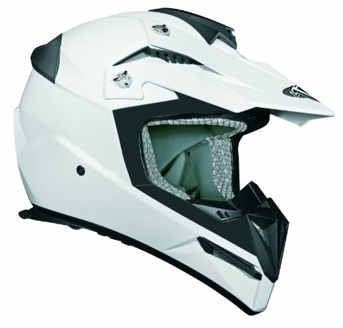 Stealth Flyte Off Road Helmet White Large Ivalu Karlsenmla