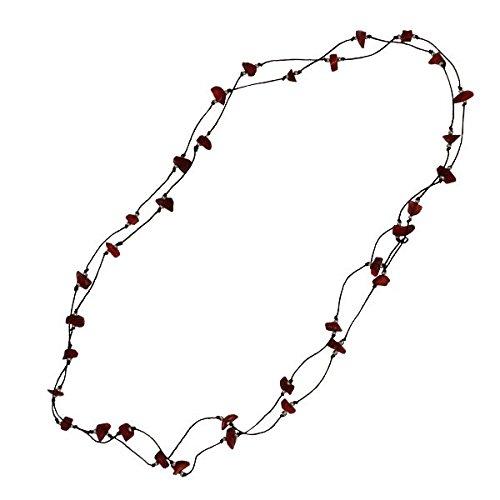 chic-net-cotone-ordito-filati-di-cotone-nero-catena-corallo-rosso-splitter-handgefadelt-lungo-137-ce