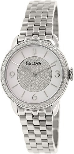 Bulova Women'S 96R184 Analog Display Analog Quartz Silver Watch