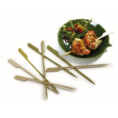 Bamboo Paddle Skewer 4 inches 1000 count box