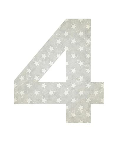 ReallyNiceThings Panel Decorativo Number 4