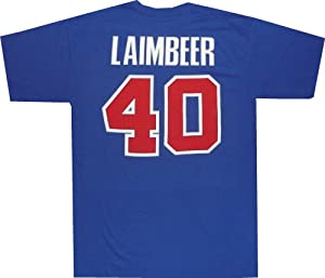 Detroit Pistons Bill Laimbeer Adidas 1989 Throwback Gametime Shirt by adidas
