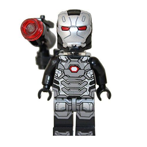 Minifigures War Machine 2016 - Jim Rhodes Super Heroes Avengers Marvel Brixplanet