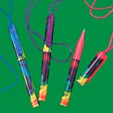 Tie-Dyed Pens On A Rope - Office Fun & Office Stationery