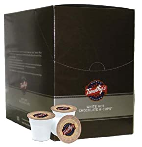 Timothy's World Coffee White Hot Chocolate K-Cups (22 count)