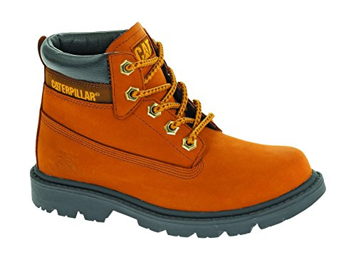 Caterpillar boys Caterpillar Boys Colorado Leather Boots Brown Honey Leather UK Size 6 (Caterpillar Boots For Kids compare prices)