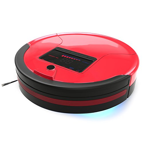 Fantastic Deal! bObsweep PetHair Robotic Vacuum Cleaner and Mop, Rouge