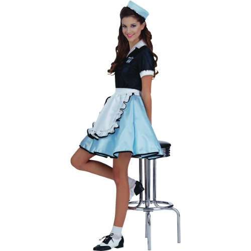 eac0266826d2 ... Diner and Waitress Inspired Trixie Sue Women Costume · Adult Car Hop  Girl 50s Costume, ...