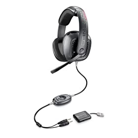 41193DE1mrL. SL500 AA280  Plantronics GameCom 777 Surround Sound Gaming Headset   $64 Shipped