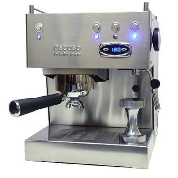 Ascaso SUBBVBR Special Edition Steel Uno Espresso Machi With Frothing Aid Attachment