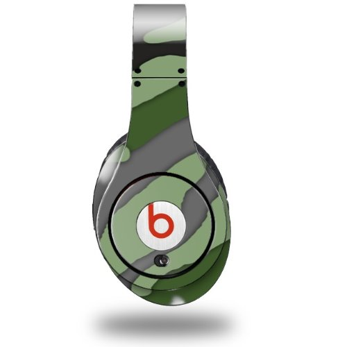 Camouflage Green Decal Style Skin (Fits Original Beats Studio Headphones - Headphones Not Included)