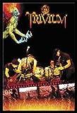 Poster - Trivium Poster Fire + ALU-Rahmen, schwarz von Trivium