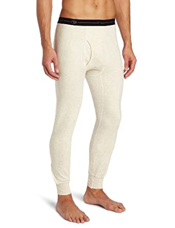 Duofold Men's Heavy Weight Plus Bottom, Oatmeal Heather, Small