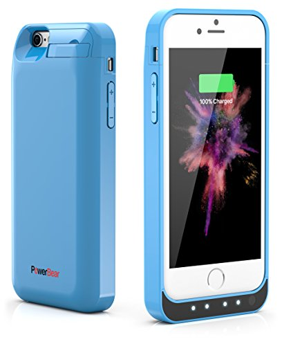 PowerBear iPhone 6S / iPhone 6  - Blue