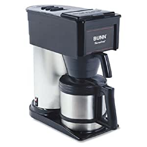 Bunn Coffee Maker Lights Flashing : Amazon.com: Bunn Home & Office Thermal Coffee Brewer - Model BTX: Combination Coffee Espresso ...