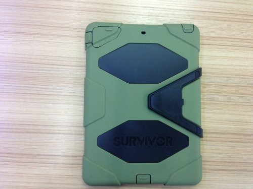iPad airケース Griffin 防水/防塵/ 耐衝撃 ケース iPad air対応  緑+黒