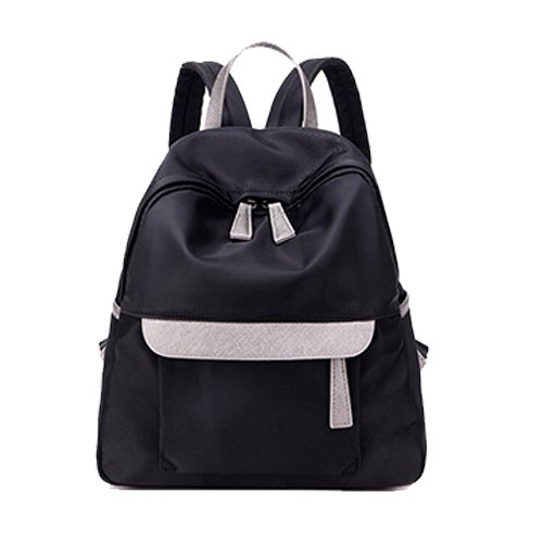 ms-schule-von-korean-air-rucksack-rucksack-einfache-kleine-nylon-oxford-rucksack-schwarz