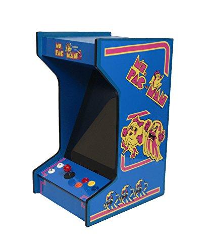 Ms PacMan Tabletop/Bartop Arcade Machine With 412 Games