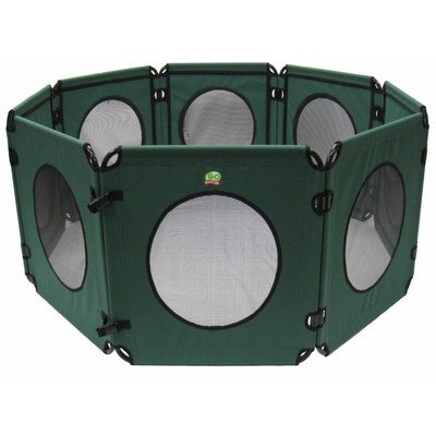 Go Pet Club Play Pen For Pets, 24-Inch, Green