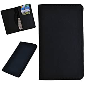 DCR Pu Leather case cover for Panasonic Eluga S (black)