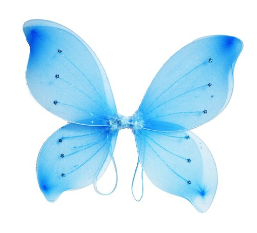 "16""x18"" Fairy Wings Butterfly Costume - Light Blue"