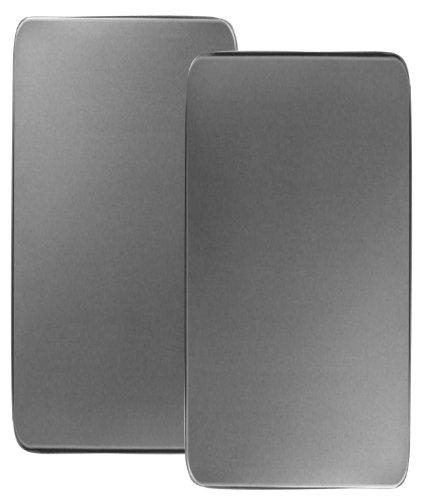 Reston Lloyd Corelle Coordinates Rectangular Burner Cover, Stainless Steel, Set Of 2