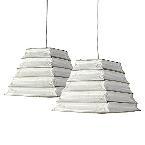 pair-of-stunning-ambient-modern-aztec-pyramid-steps-shaped-white-chinese-paper-lantern-ceiling-penda