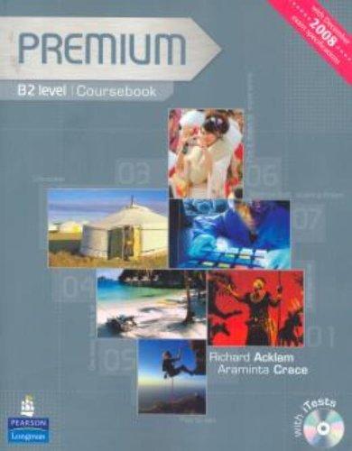 Premium B2 Level Coursebook Exam Reviser Test CD-ROM Pack