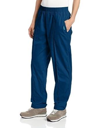 Landau Scrubs Women's Classic Tapered Leg Pant, Caribbean Blue, XX-Large