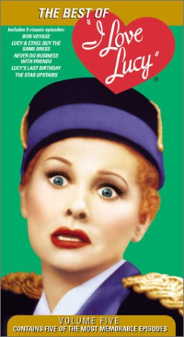 I Love Lucy 5: Best of [VHS]