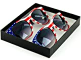 PP Inc. USA American Flag Sunglasses Box Set