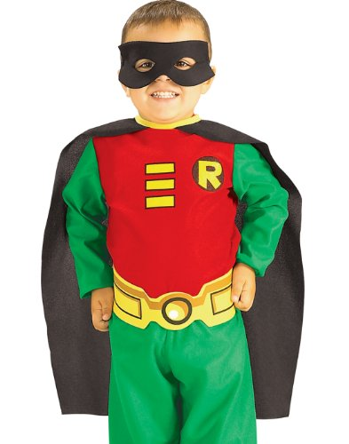 RUBIE'S TEEN TITANS ROBIN INFANTS' COSTUME Style# 885209 IN