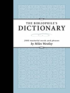 "Cover of ""Bibliophile's Dictionary: 2054 ..."