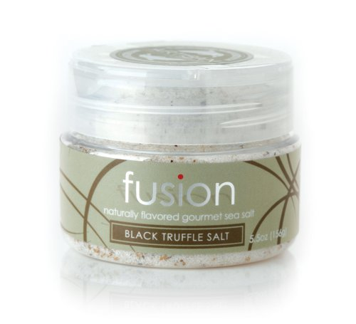 Fusion Black Truffle Sea Salt, 5.5-Ounce Jar