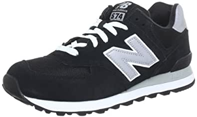 New Balance M574, Unisex-Erwachsene Sneakers, Schwarz (NK BLACK 8), 41.5 EU