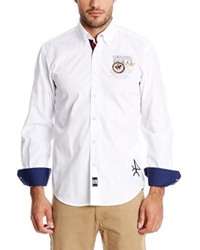 Valecuatro Camisa Hombre Blanco