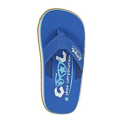 Cool Shoes Originale Pi FEDERALE , Blu Ciabatte Sandali Infradito Bagno Di Scarpe Spiaggia Solo - Uomo, blu, 43/44