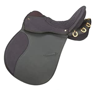 Equiroyal Synthetic Endurance Trail Saddle w/o Horn Package