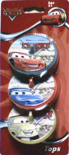 Disney Pixar Cars Spinning Tops (3pack) - Buy Disney Pixar Cars Spinning Tops (3pack) - Purchase Disney Pixar Cars Spinning Tops (3pack) (What Kids Want,Inc., Toys & Games,Categories,Activities & Amusements,Spinning Tops)