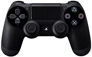DualShock 4 Controller - Black - PlayStation 4