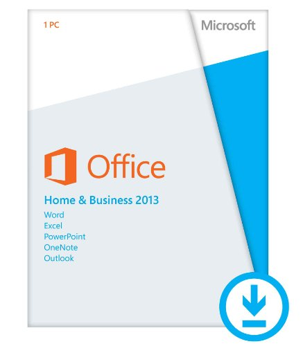 Microsoft Office Home and Business 2013  (1PC/1User) [Download]
